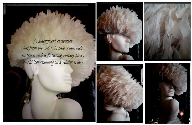 feather cream Collage
