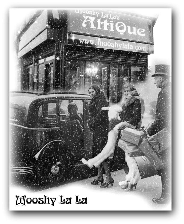 mooshy snow poster