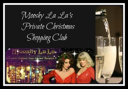 private christmas shopping club
