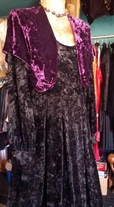 Vintage crushed velvet 70's