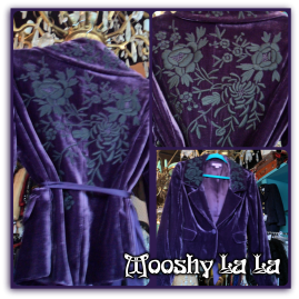 Monsoon velvet embroidered