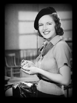Lana Turner sweater girl