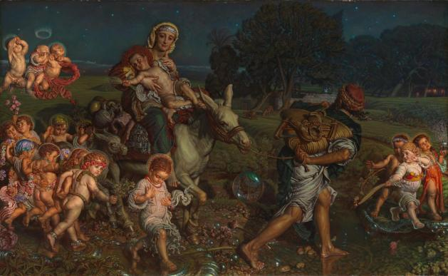 The Triumph of the Innocents 1883-4 by William Holman Hunt 1827-1910